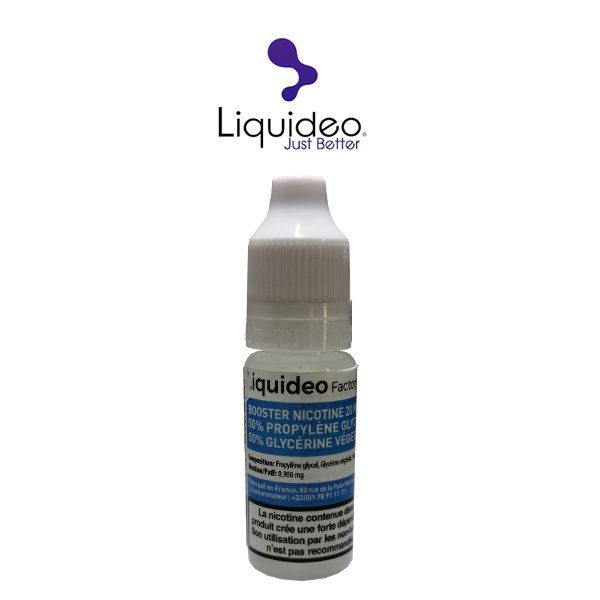 Booster Liquideo 50 50 PG VG - Comment booster son e-liquide?