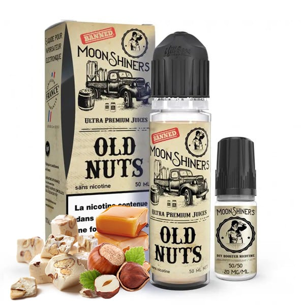 E-liquide Old Nuts Moonshiners 60ml
