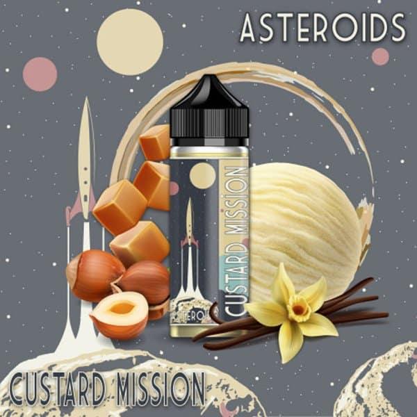 Eliquide Asteroid 170ml Custard Mission