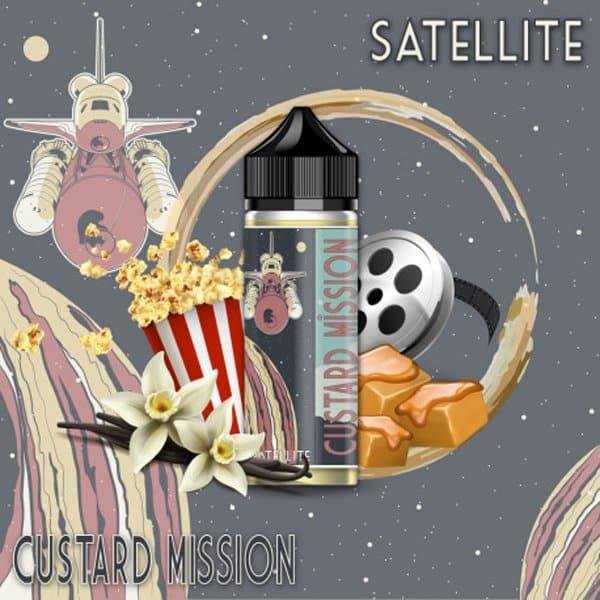 Eliquide Satellite 170ml Custard Mission